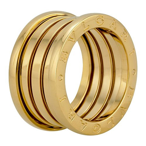 Bvlgari B.ZERO1 18kt Yellow Gold 4-Band Ring 323544