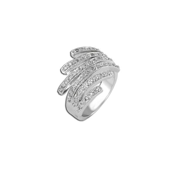 Pavé Wisps Ring