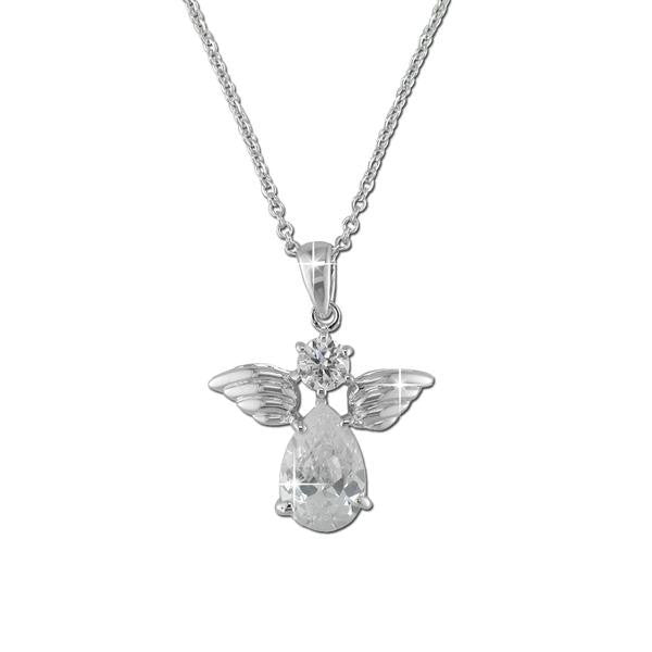 White Angel Necklace