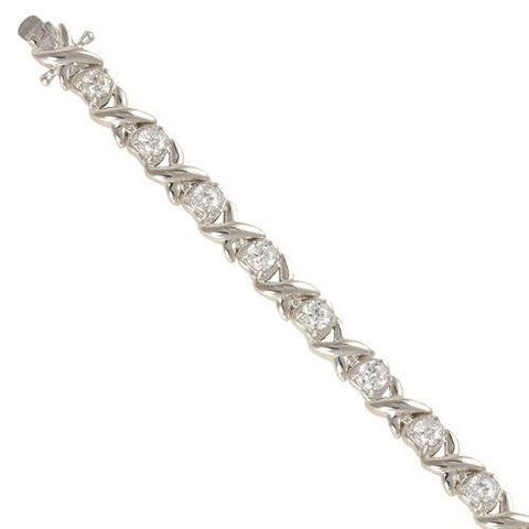 Sterling Silver Ladies' Bracelet Collection