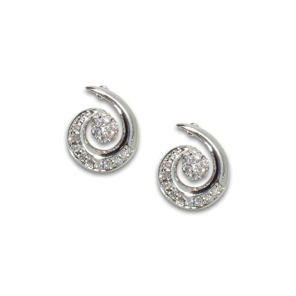Round Swirl Earrings