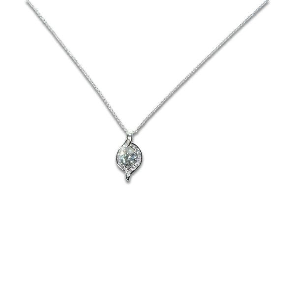 Solitaire Wrap Necklace