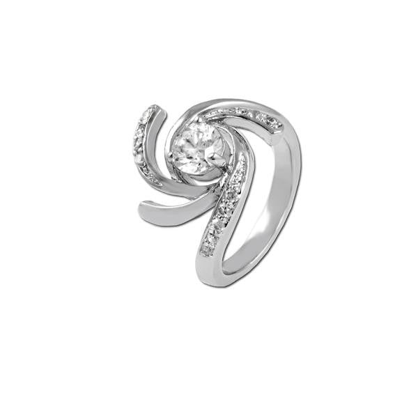 Round With Curves Ring