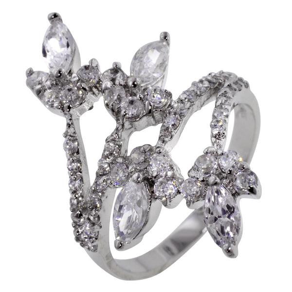 Marquise Flourish Ring