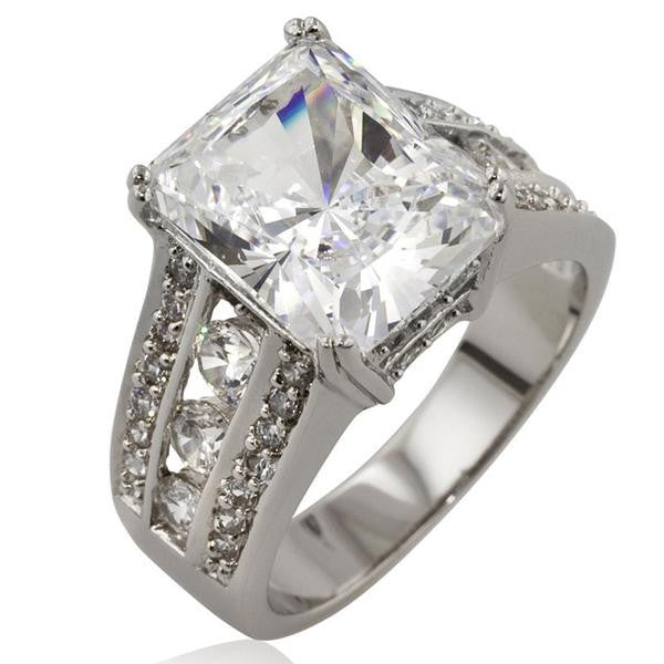 Princess Cut Dynasty Ring