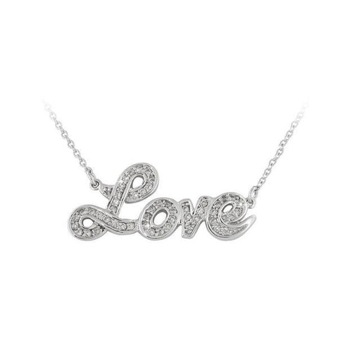 Sterling Silver Ladies' Necklaces