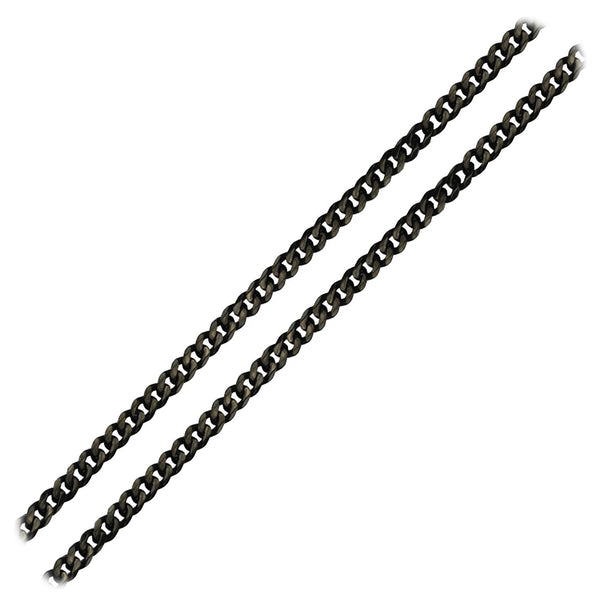 4.8mm Super Black Diamond Curb Chain