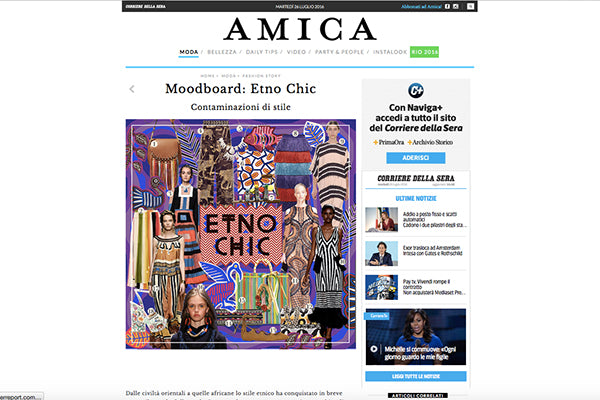 Amor Y Mezcal on Amica.it July 2016