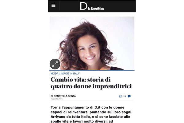 Amor Y Mezcal on D di Repubblica, August 2016