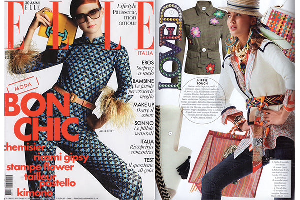 Amor Y Mezcal on Elle cover, March 2017