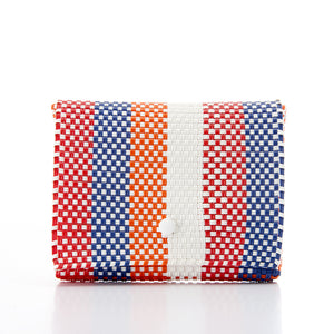 Clutch bag Baby Pochette red blue orange Amor y Mezcal