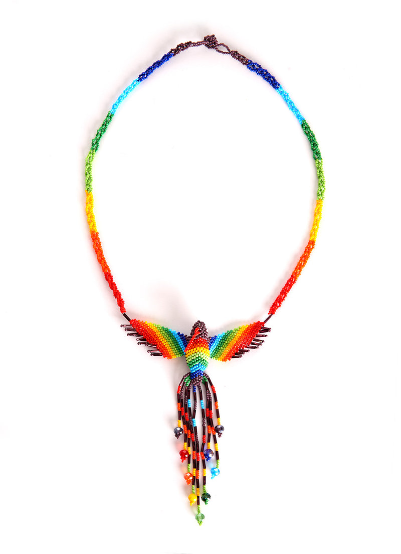 Hummingbird necklace slim