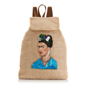Frida Backpack front Amor y Mezcal