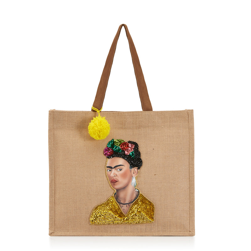 Frida Shopping bag front Amor y Mezcal