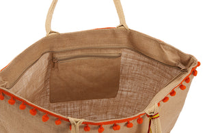Rooster Beach Bag open Amor y Mezcal