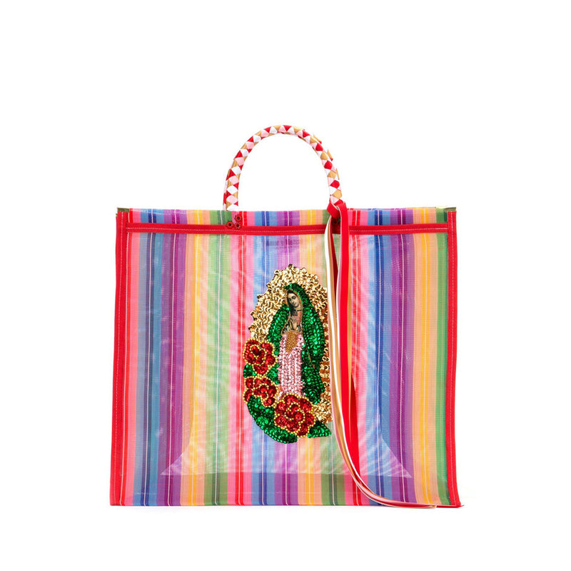 Tijuana Market bag model Amor y Mezcal
