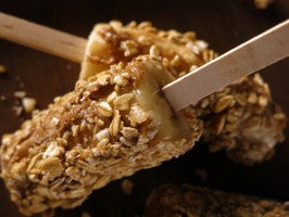 Recipe of the Week:  Super Quick On-the-Go Granola-Coated Frozen Bananas