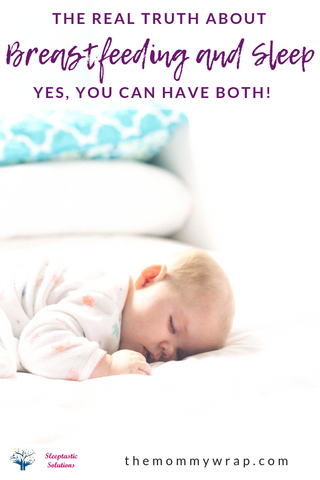 The Truth About Breastfeeding and Sleep.  Find out how you can have success with Breastfeeding and get a good night's rest (even after a year of age).  #breastisbest #breastfeeding