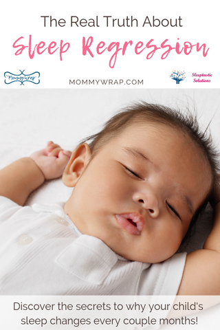 It is important that every mom is prepared for the dreaded sleep regression.  It is also important for mom to understand what is actually going on and why these occur!  With that understand you will be prepared to handle these changes and make any transition easier on both you and your baby. #newmom #sleeptraining #sleepregression