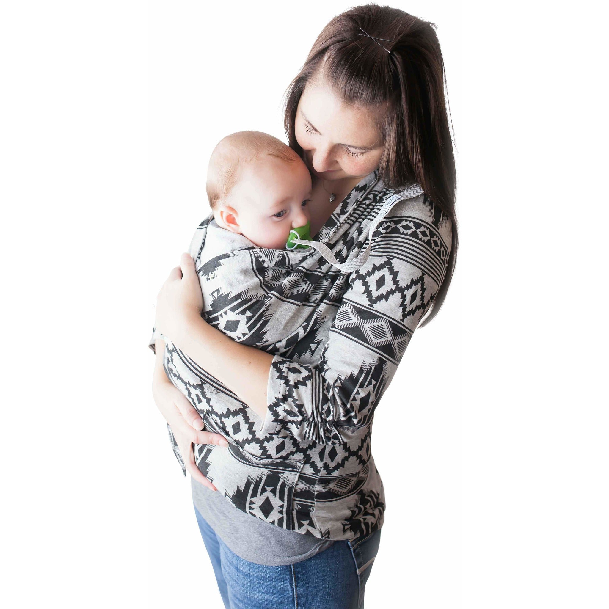 The Mommy Wrap® Helps hold and soothe baby • Supports Colic - The
