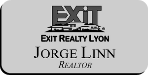 Exit Realty Lyon Name Badge - Magnetic Back