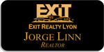 Load image into Gallery viewer, Exit Realty Lyon Name Badge - Magnetic Back
