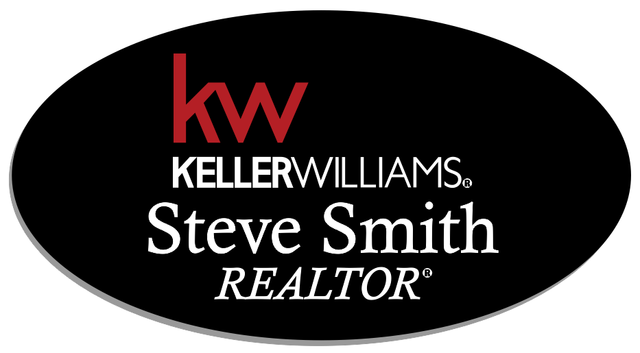 Keller Williams Name Badge - OVAL Black w/ Color