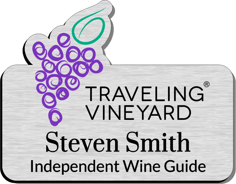 Traveling Vineyard Name Badges - Vintage Colors