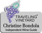 Load image into Gallery viewer, Traveling Vineyard Name Badge - Silver w/ Color