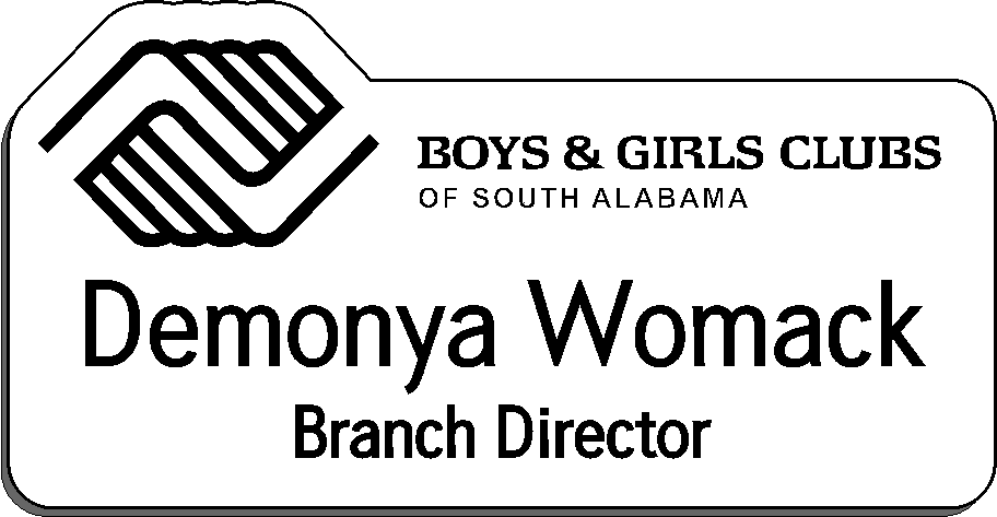 Boys & Girls Clubs of South Alabama - White w/Black