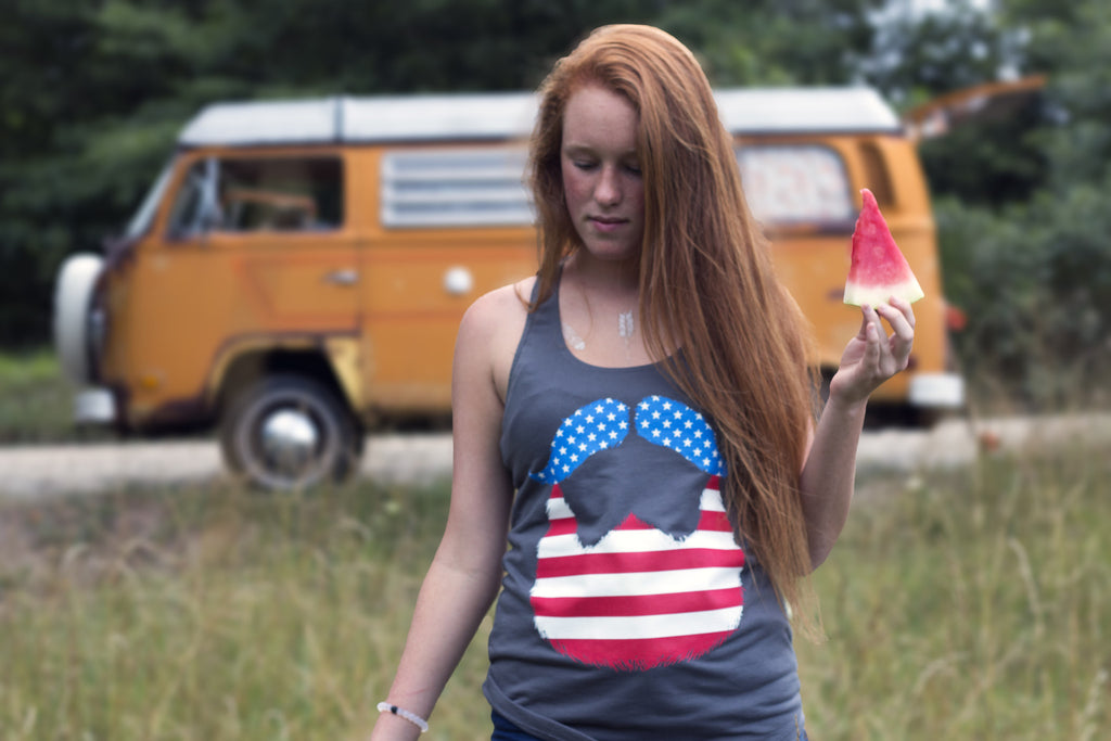 Lady America Tank - Dream Beard - 3