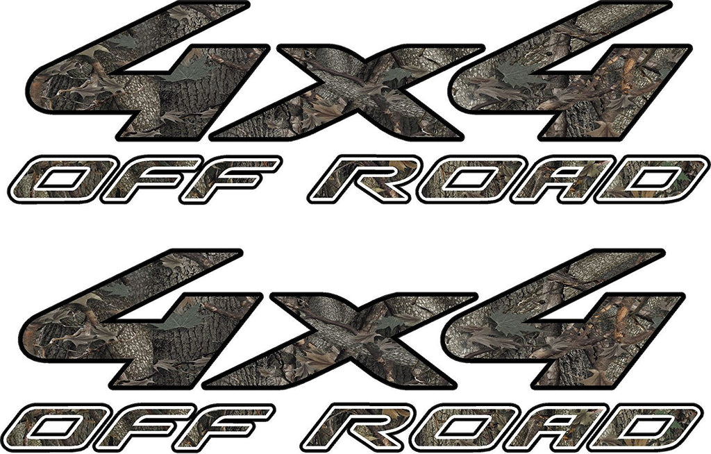 4x4 Truck Offroad Decal Oak Camo Cast Vinyl