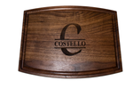 Engraved Personalized Walnut Cutting Board 12x19x.75 Inches
