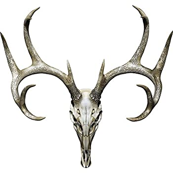 Deer Skull Hunting Decal