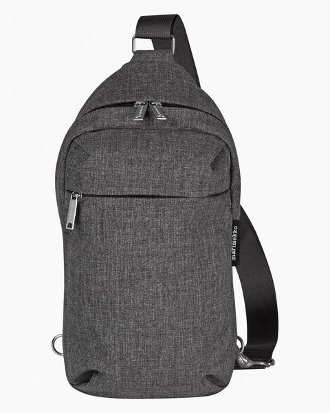 kortteli crossbody bag grey backpacks bags accessories