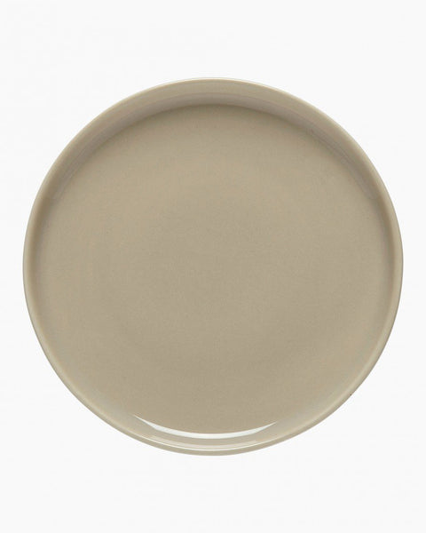 oiva plate 13.5 cm brown in good company tableware home