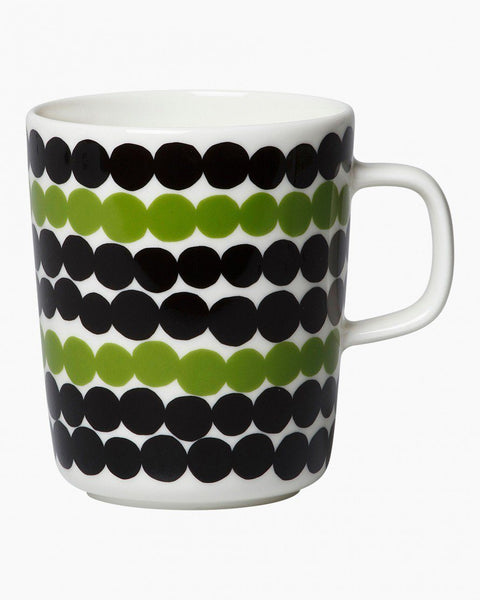 rasymatto mug black/green in good company tableware home