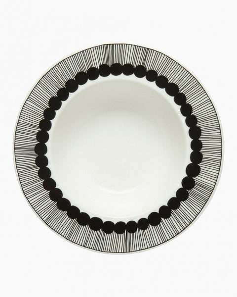 siirtolapuutarha deep plate in good company tableware home