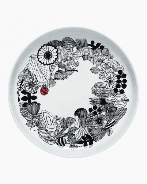 siirtolapuutarha platter in good company tableware home