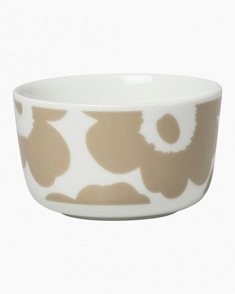 unikko beige bowl 2.5dl unikko tableware home