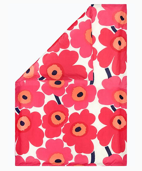 unikko euro duvet cover queen red bedding bed bath