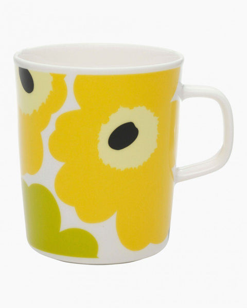 unikko mug yellow unikko tableware home