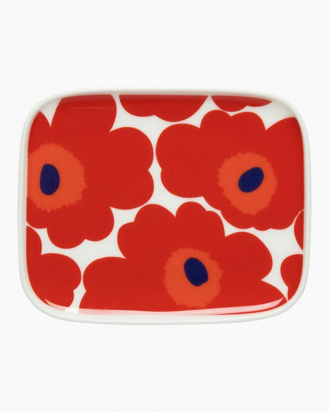 unikko plate red unikko tableware home
