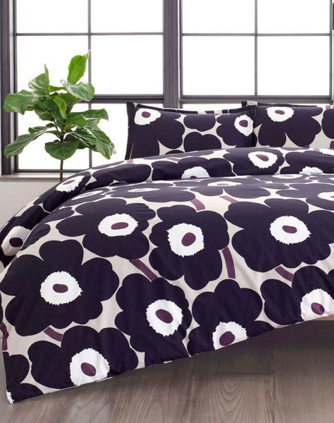 unikko queen duvet set bedding bed bath