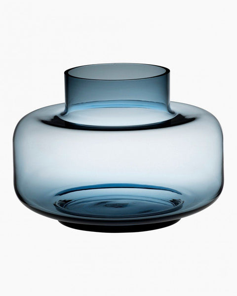 urna vase blue glassware & candle holders home