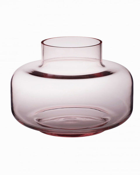urna vase pink glassware & candle holders home