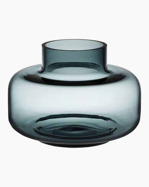 urna vase smoke-gray glassware & candle holders home