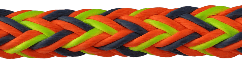 "3/4"" Husky Multi-Pro 12-Strand Double Carrier Hollow Braid"