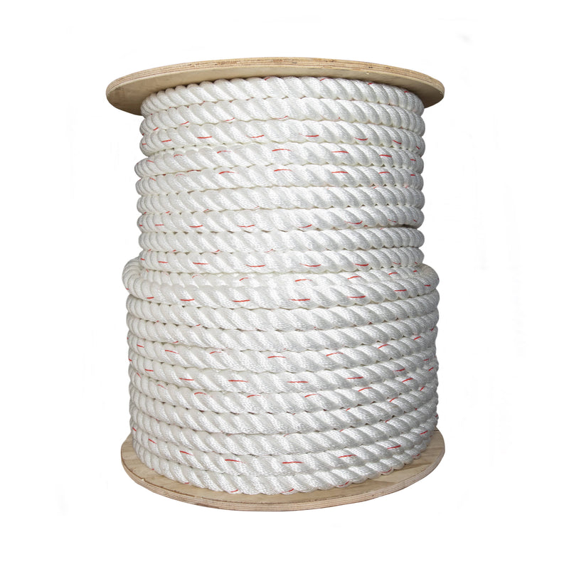 3-Strand Twisted Poly-Dacron Combination Rope & 3-Strand Twisted Poly-Dacron Combination Rope