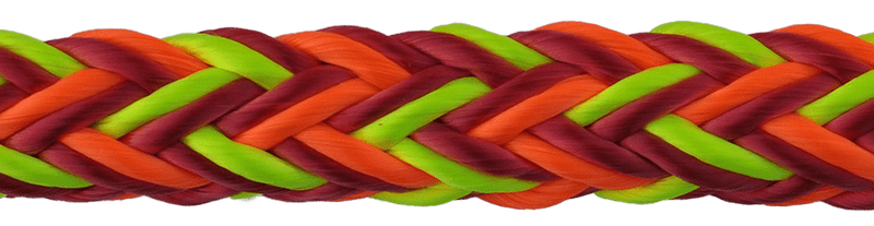 "5/8"" Husky Multi-Pro 12-Strand Double Carrier Hollow Braid"
